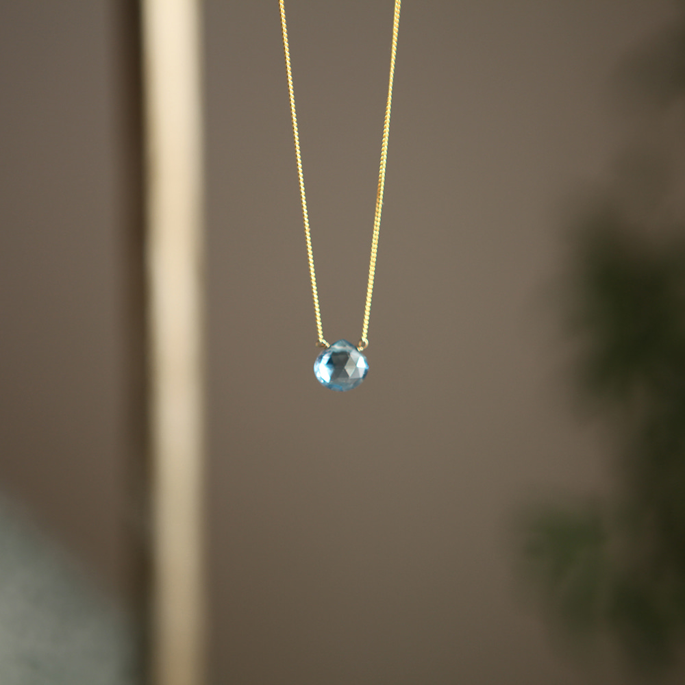 Kate Turquoise Black Silver Necklace